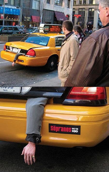 Реклама сериала Сопрано