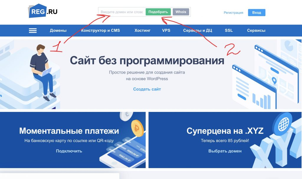 Регистратор доменных имен РегРу
